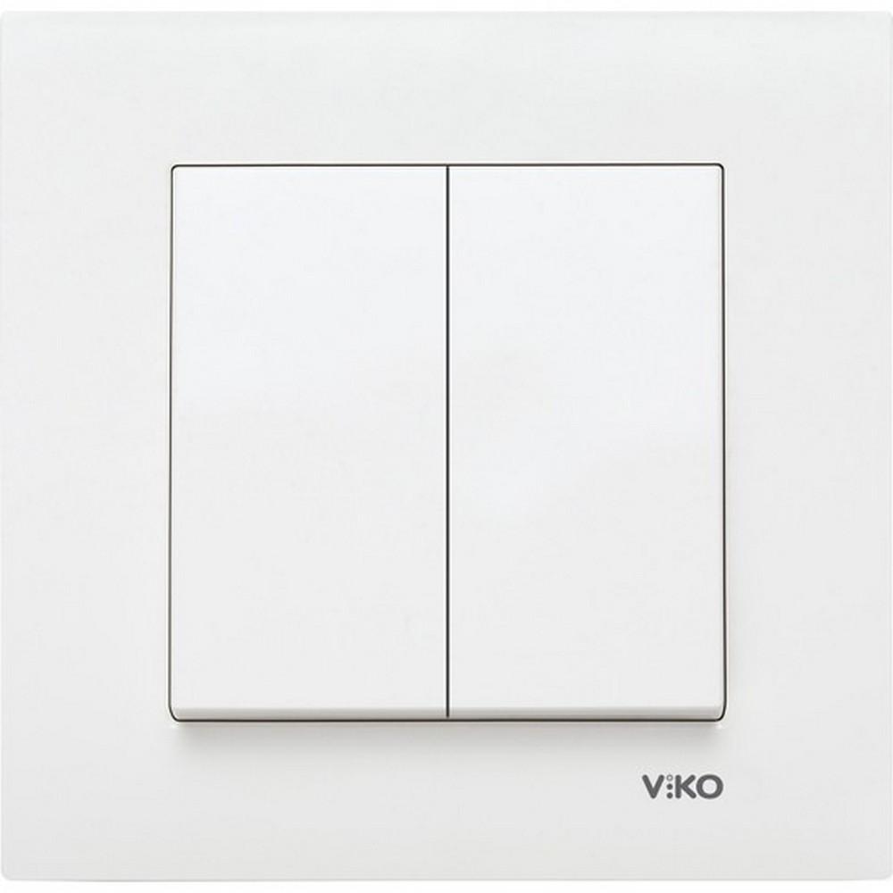 Viko Karre Sıva Altı Komütatör-Beyaz
