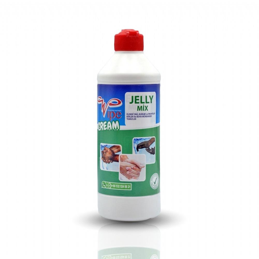 Wipe Jelly Mix El Temizleme Kremi Sabunu 500 GR Sıkma