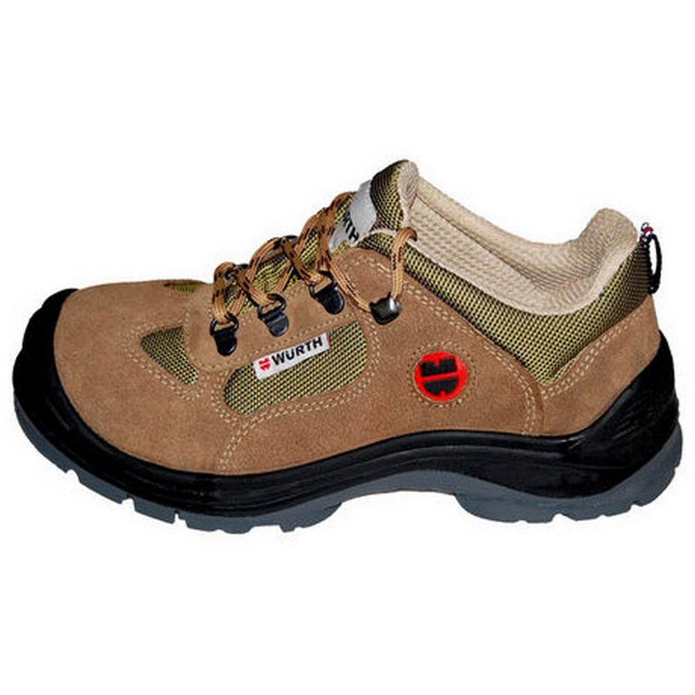 Würth S1-P Boğazsız İş Güvenliği Ayakkabısı Süet Bej (No :43)